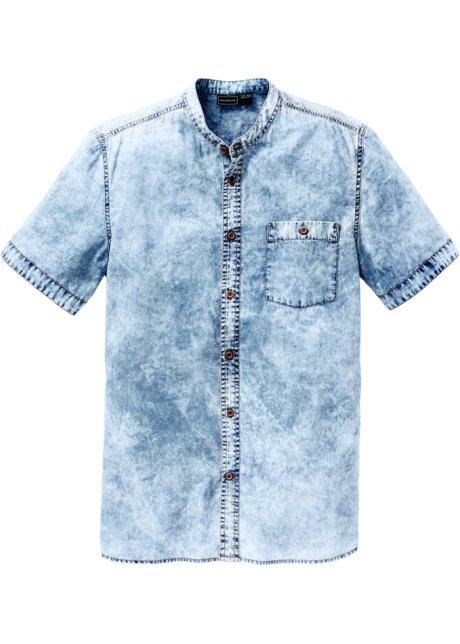 7d3af422b2 Camicia di jeans a manica corta slim fit