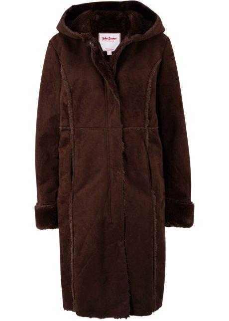 giacca di montone sintetico (marrone) john baner jeanswear