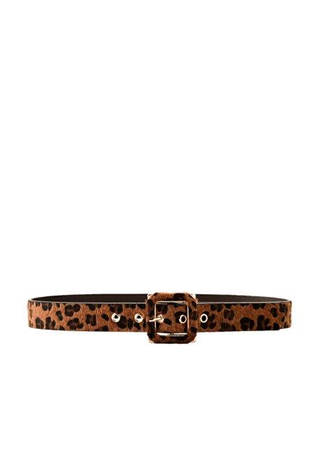grande vendita ecb0a 88d6b Cintura leopardata Nero / marrone - bpc bonprix collection ...