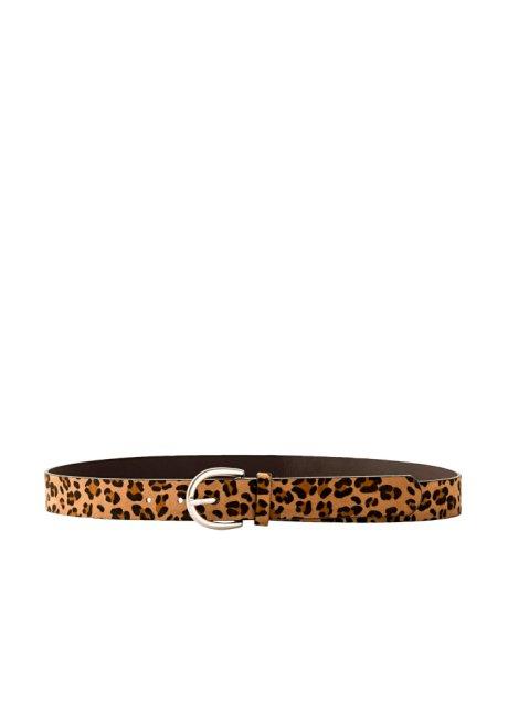codice promozionale a797a e91e8 Cintura leopardata Nero / marrone chiaro / marrone scuro - bpc ...