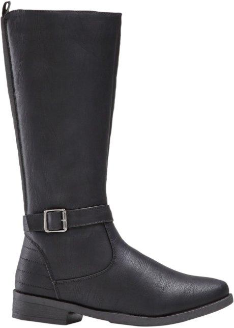 nuovo di zecca 4f67b 2b704 Stivali con gambale largo Nero - bpc selection ordina online ...