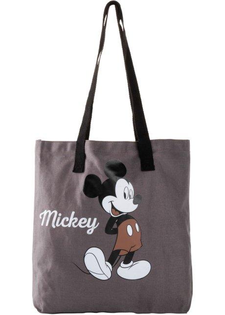 borsa di stoffa con mickey mouse (blu) bonprix