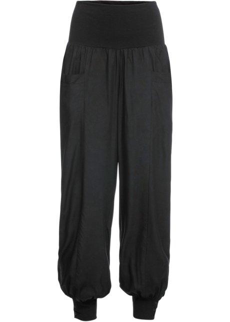grande vendita cf011 db64c Pantaloni alla turca con bottoni Nero - RAINBOW ordina online ...