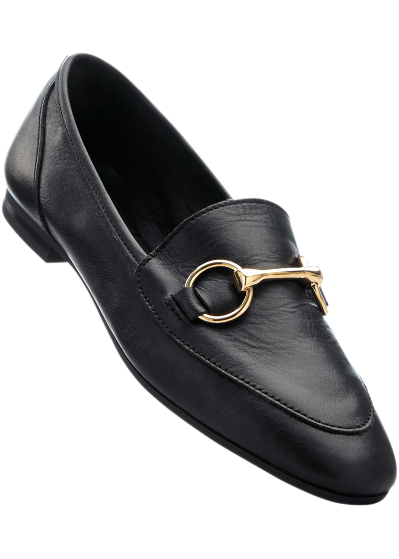 Mocassino in pelle (Nero) - bpc selection