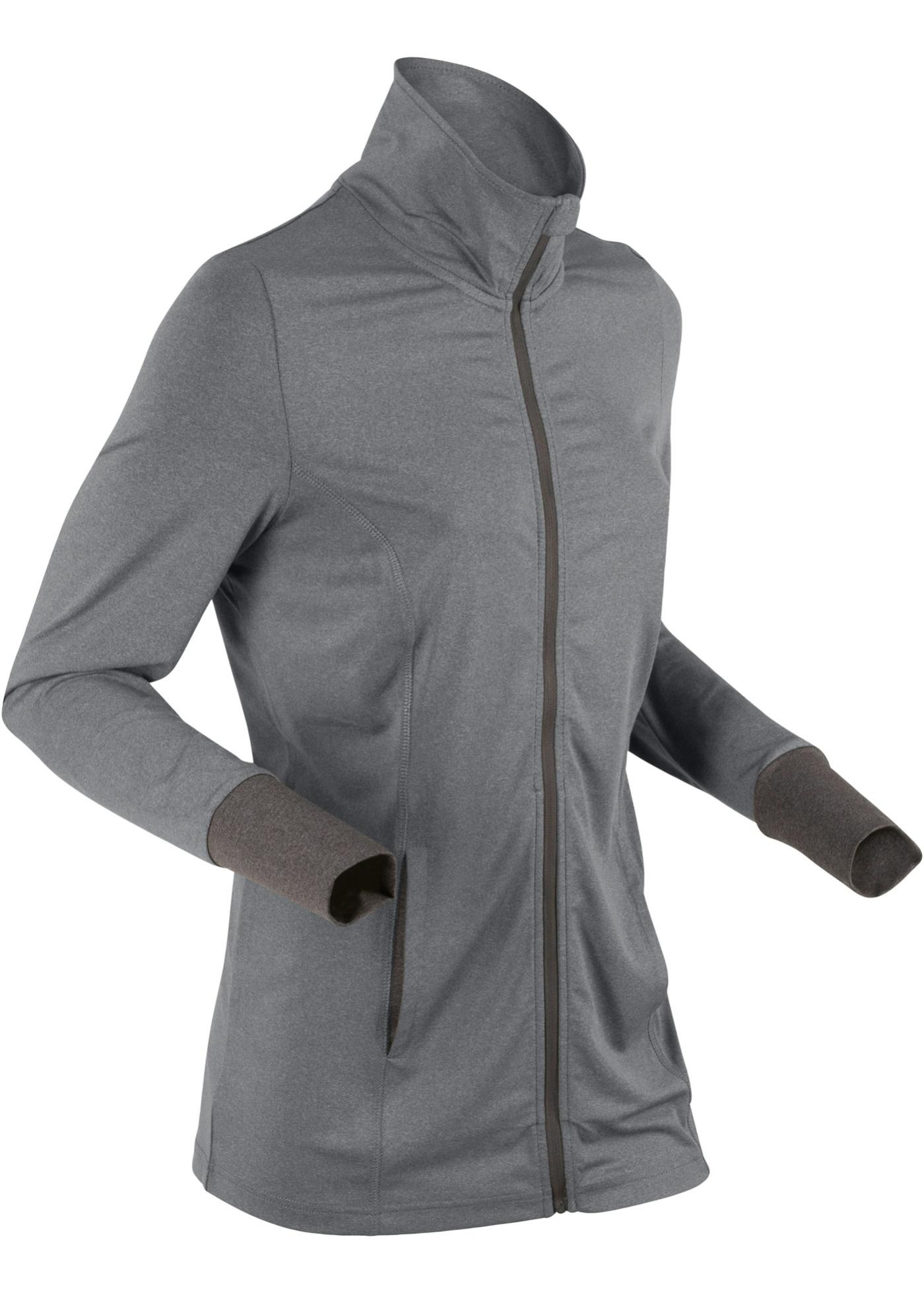 Giacca sportiva in jersey (Grigio) - bpc bonprix collection