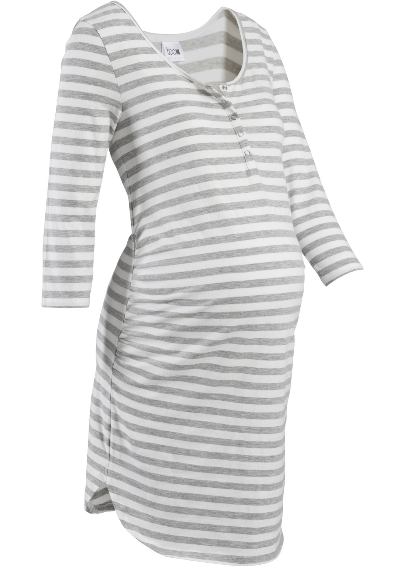 Camicia da notte per l'allattamento (Grigio) - bpc bonprix collection - Nice Size