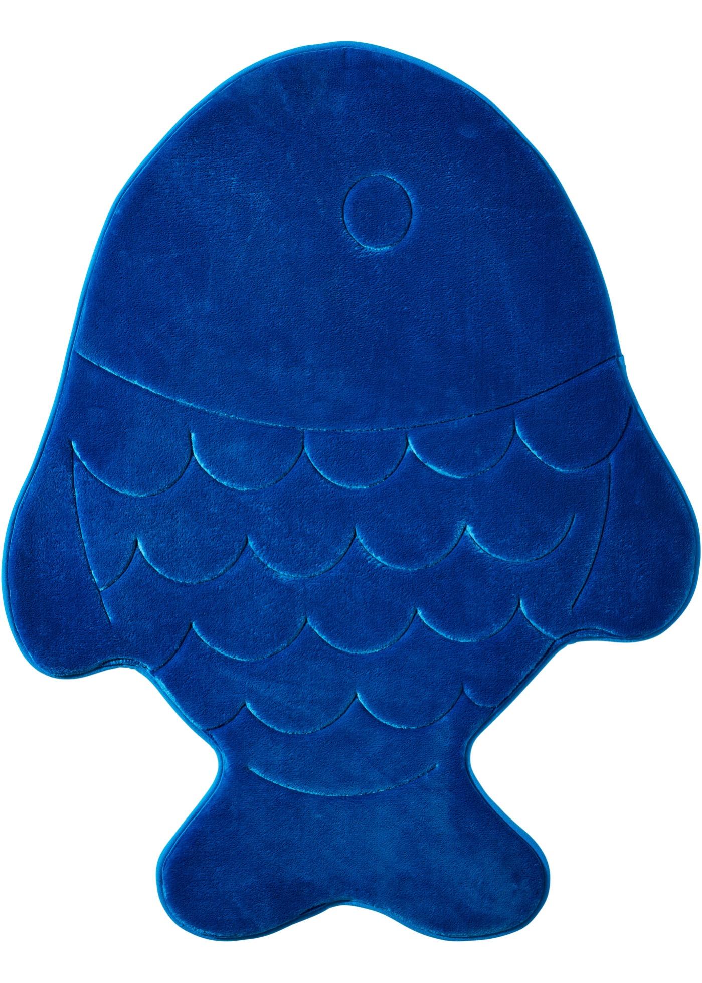 arredo bagno tappetino per bagno fisch in memory foam (blu) - bpc ... - Bonprix Arredo Bagno