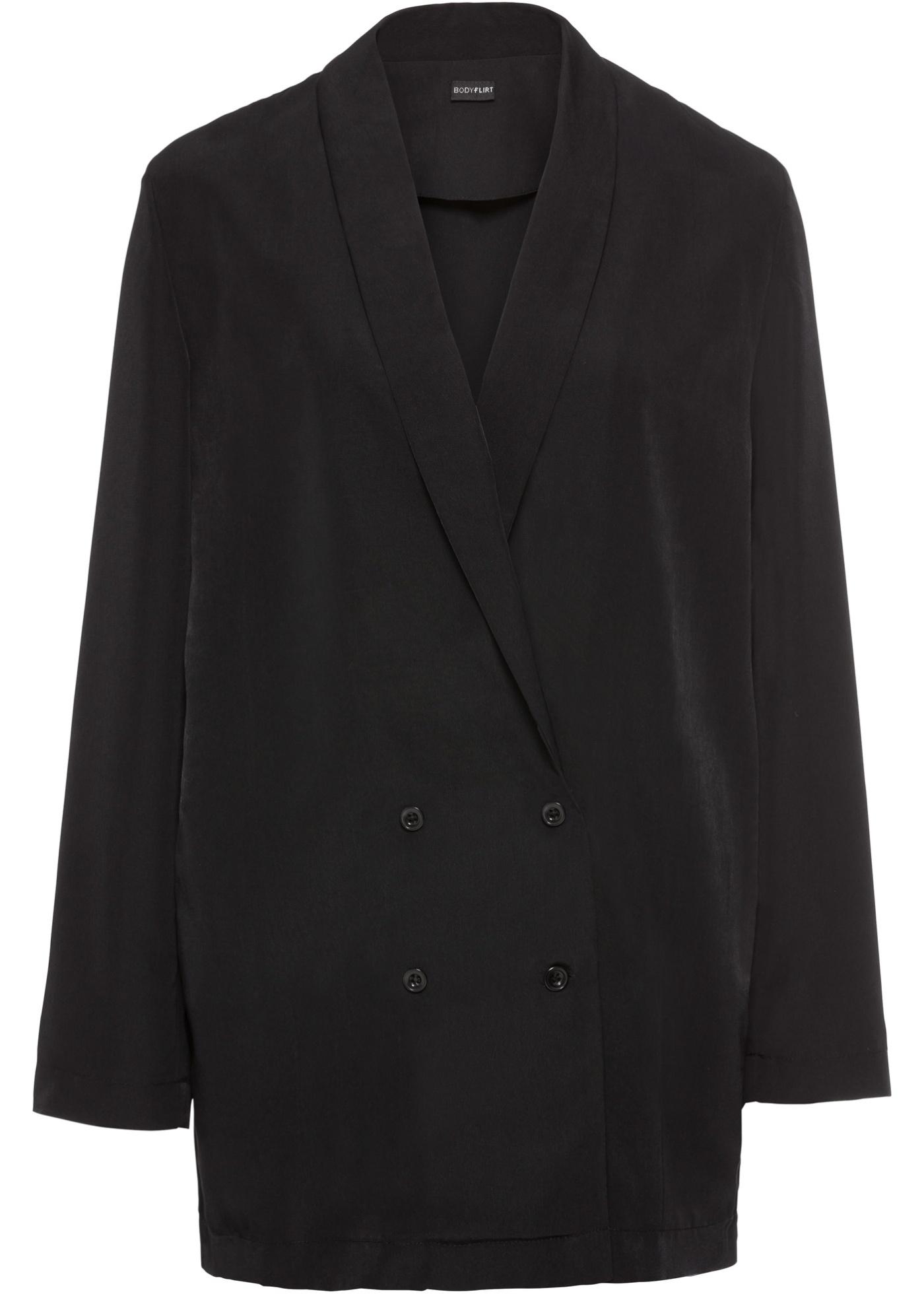 Blazer camicia (Nero) - BODYFLIRT