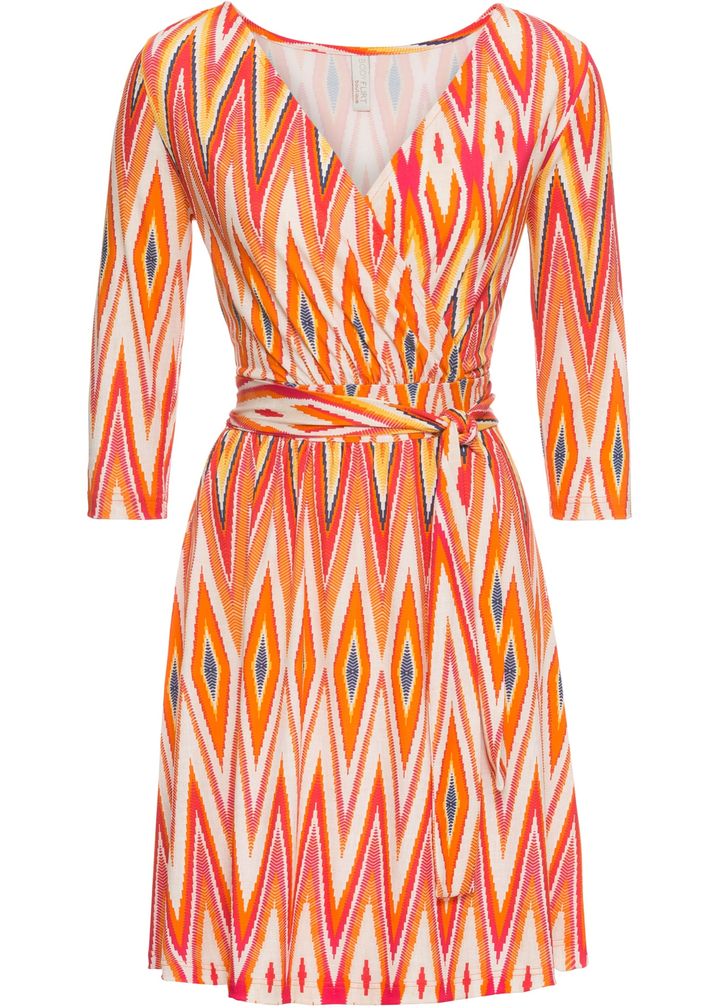 Abito (Arancione) - BODYFLIRT boutique