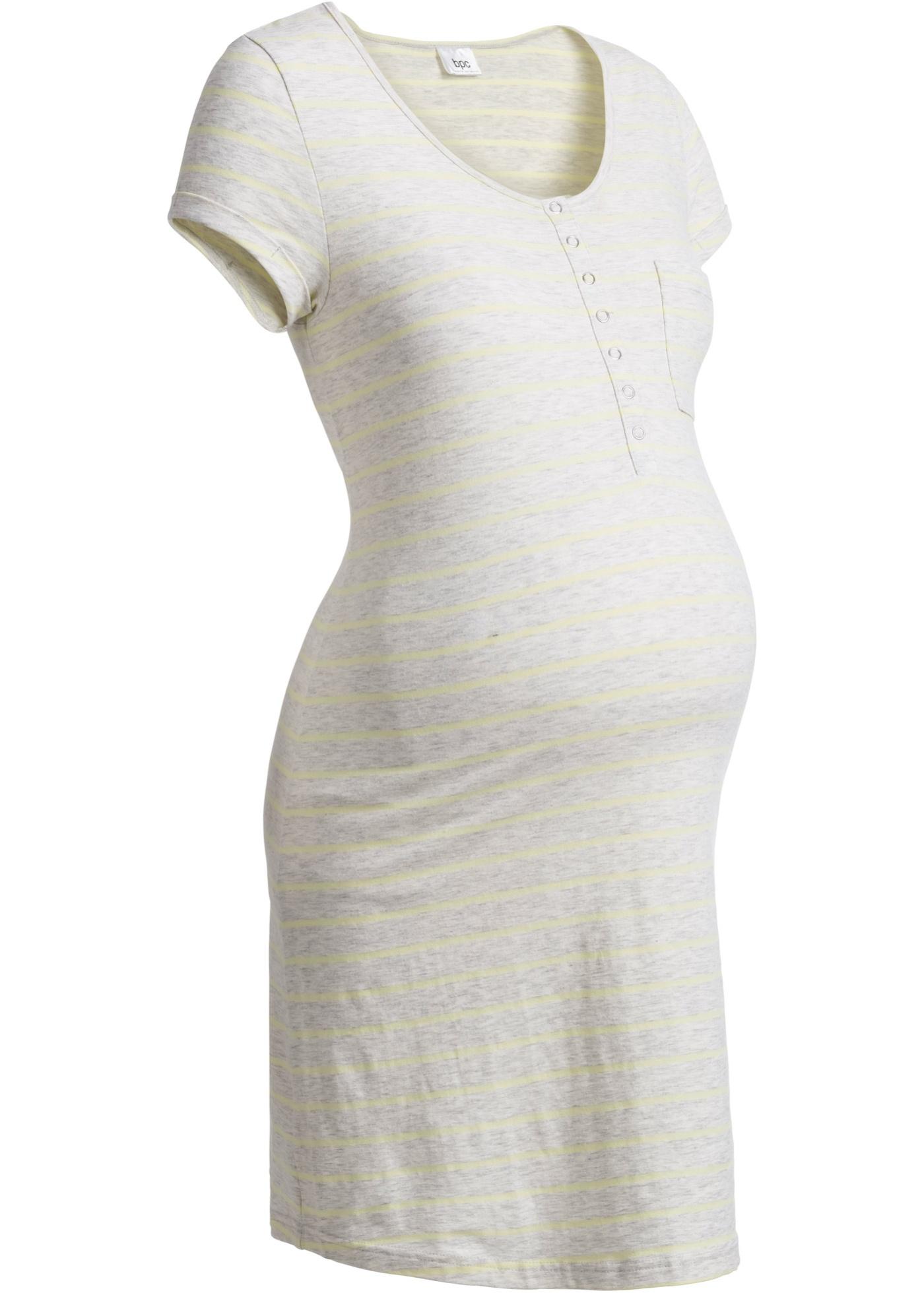 Camicia da notte per l'allattamento (Bianco) - bpc bonprix collection - Nice Size