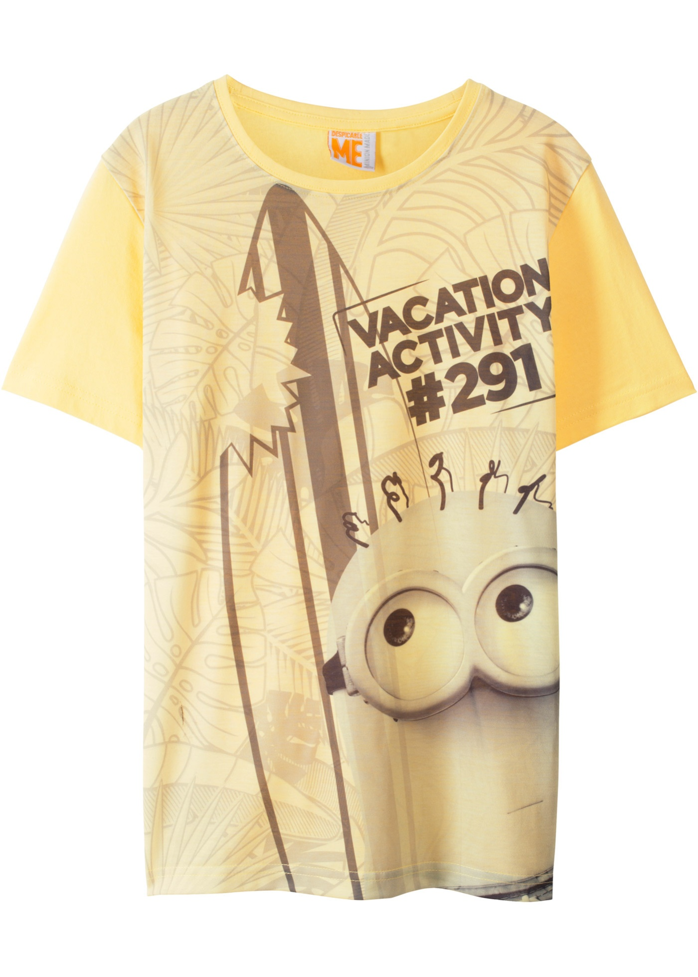 T-shirt MINIONS (Giallo) - Despicable Me_TV-Mania