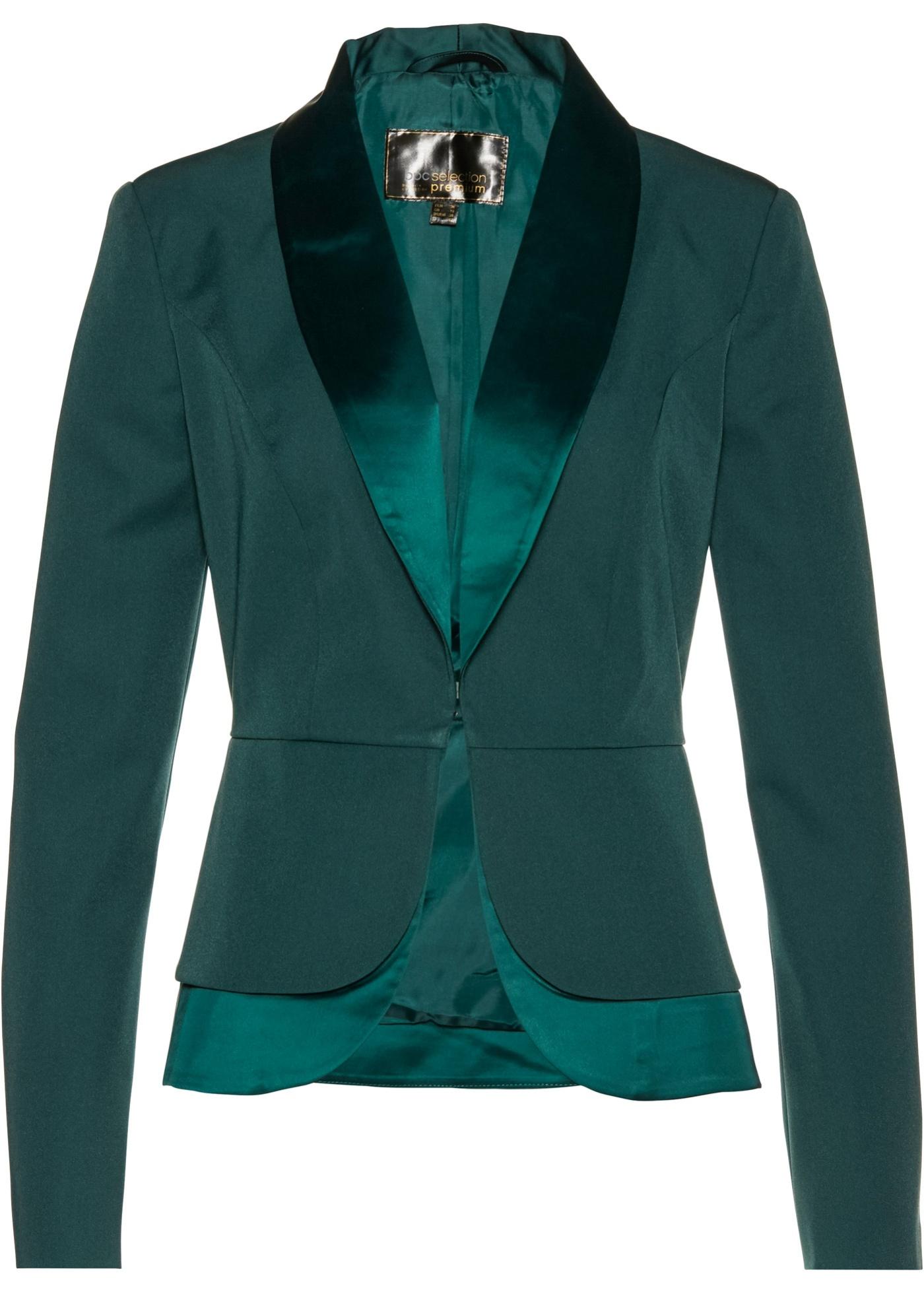 Blazer in stile smoking (Verde) - bpc selection premium