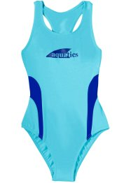 Costume intero, bpc bonprix collection, Acqua / blu royal