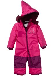 Tuta da neve, bpc bonprix collection, Fucsia scuro / bacca