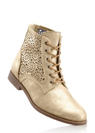 Stivaletto, bpc bonprix collection, Beige metallizzato