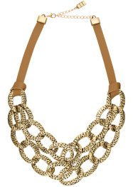 "Collana ""Urban Safari"", bpc bonprix collection, Marrone / color oro"