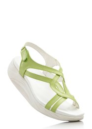 Sandalo, bpc bonprix collection, Verde chiaro