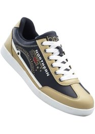 Sneaker, bpc selection, Blu scuro / beige