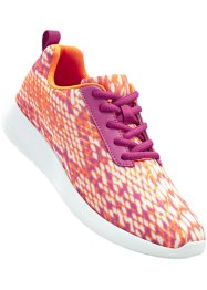 Sneaker, bpc bonprix collection, Arancione / fucsia