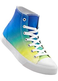 Sneaker alta, bpc bonprix collection, Blu