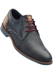 Scarpa in pelle, bpc bonprix collection, Blu jeans