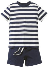T-shirt + shorts (set 2 pezzi), bpc bonprix collection