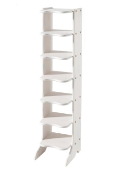"Scarpiera ""Twist"" 7 paia, bpc living, Bianco"