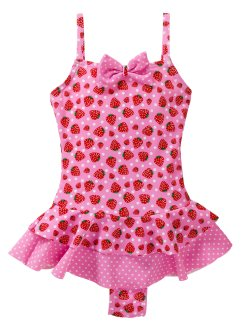 Costume intero, bpc bonprix collection, Rosa / fragola