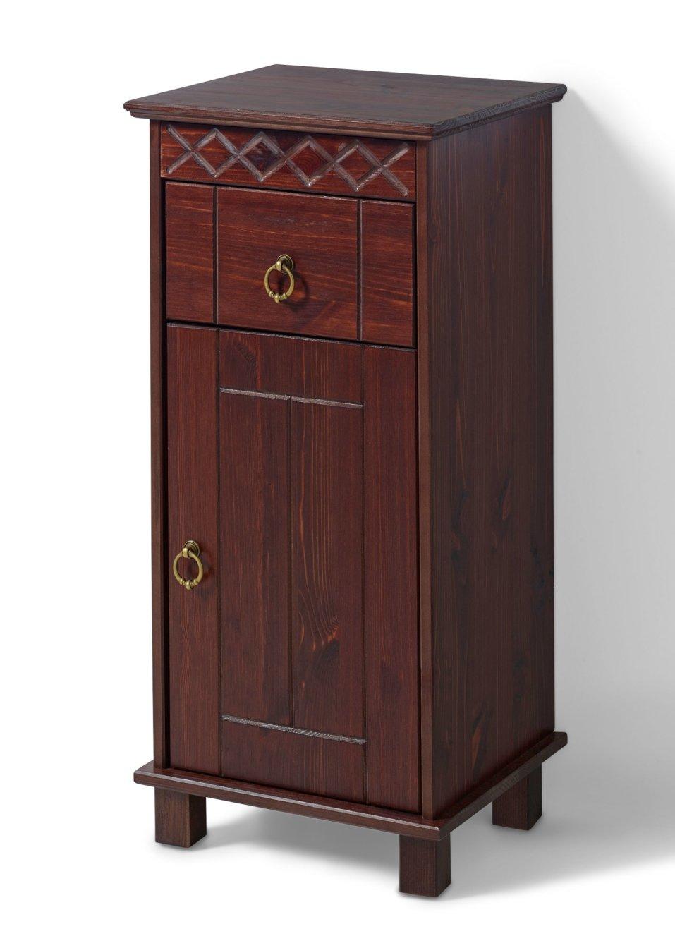 Armadietto da bagno isa marrone scuro casa bpc for Bonprix casa mobili