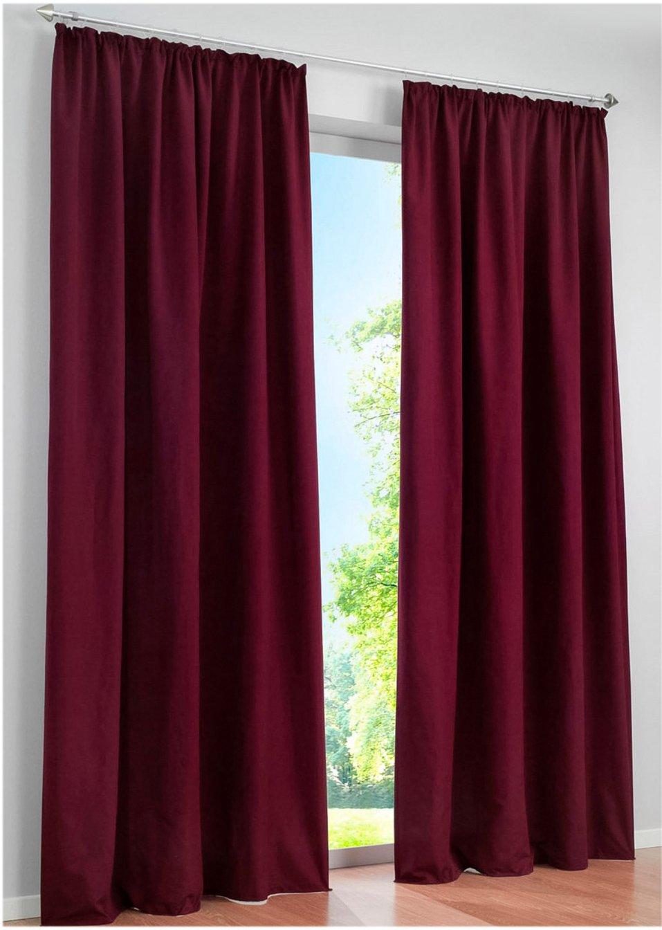 tenda microfibra pacco da 2 bacca bpc living acquista online. Black Bedroom Furniture Sets. Home Design Ideas