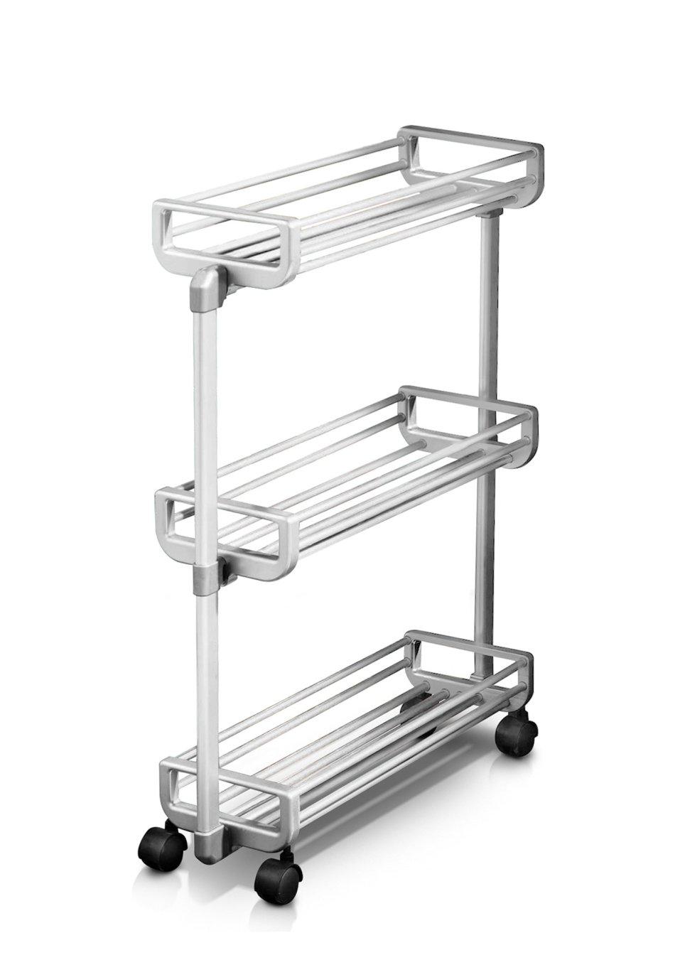 carrellino salvaspazio alluminio - casa - bonprix.it - Bonprix Arredo Bagno