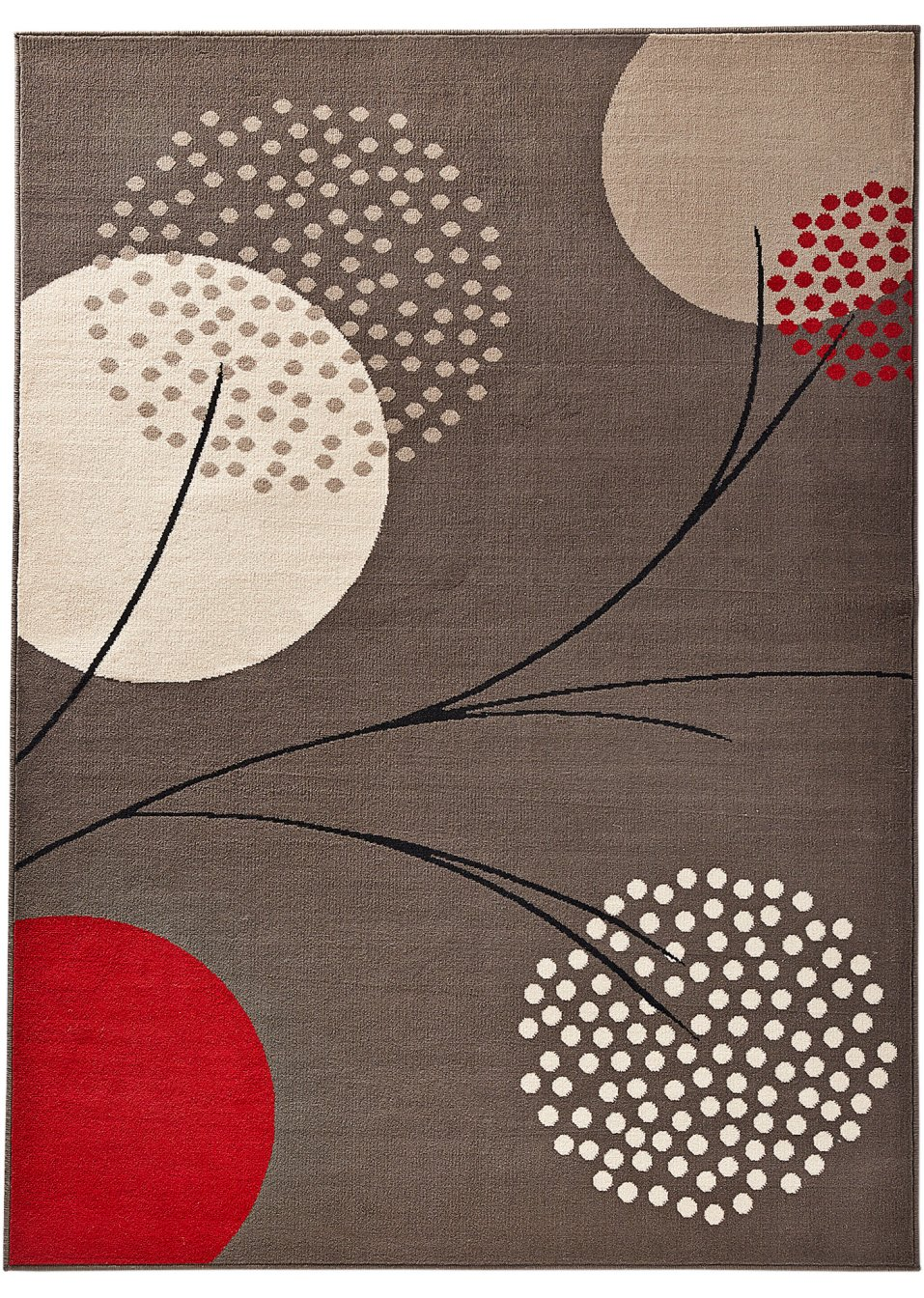 Tappeto nik grigio bpc living acquista online for Arredamento tappeti