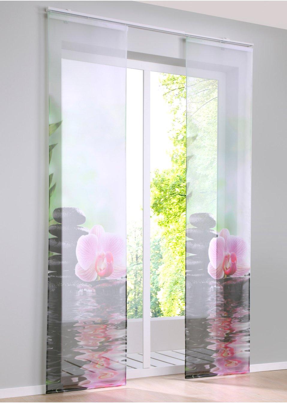 Tenda a pannello orchidea pacco da 1 multicolore for Ikea tende a pannello