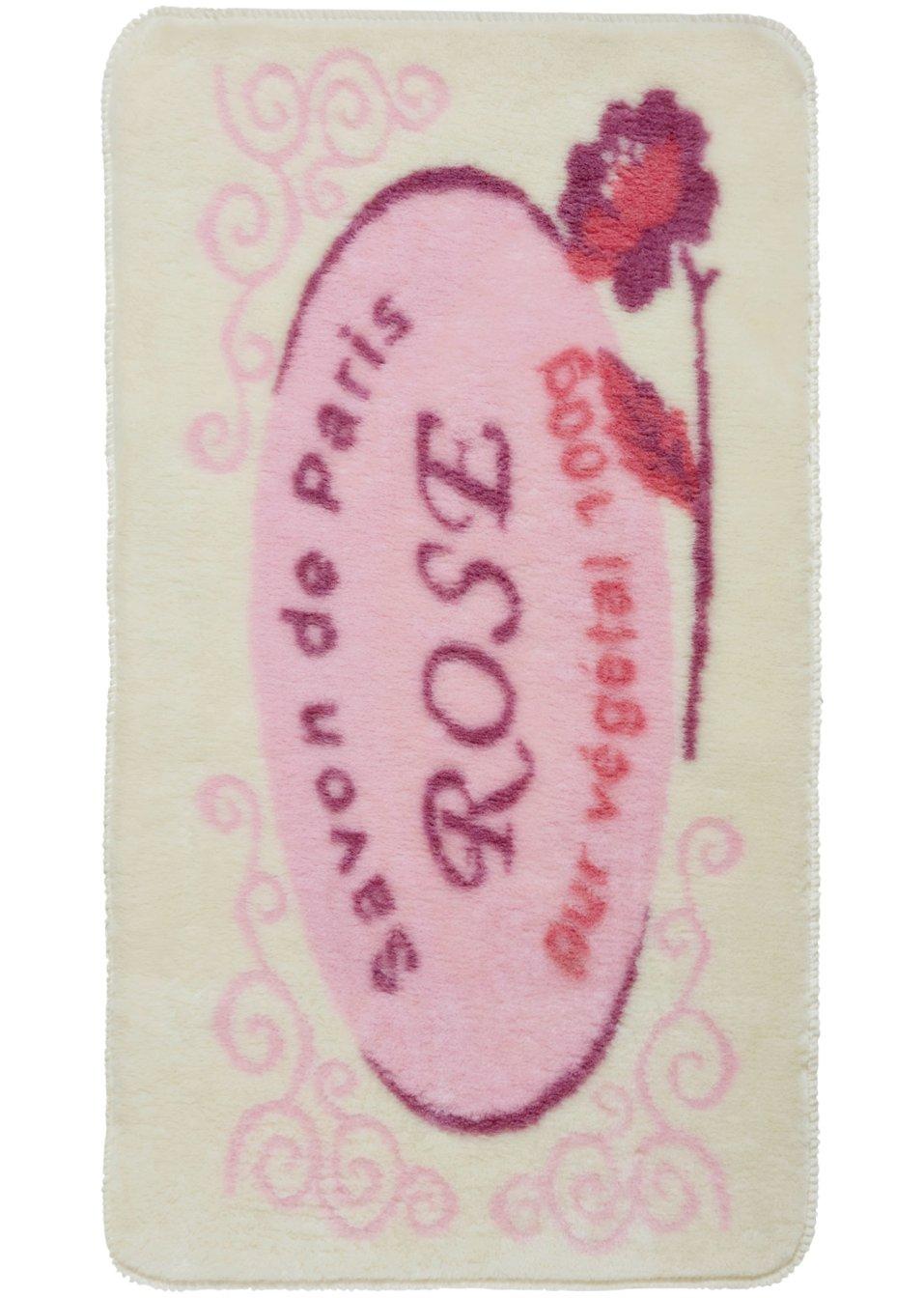Tappetino per il bagno lille rosa casa - Tappetini per il bagno ...